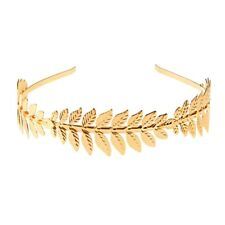 Laurel Hoop Leaf Headband Grecian Headdress Roman Hair Crown Women
