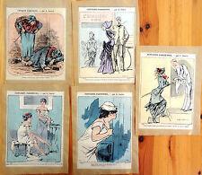 Alfred GREVIN Petit Journal Pour Rire Lithographie XIXe Fantaisies Parisiennes 7