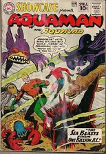 SHOWCASE #31 DC COMICS 3-4/61 EARLY SILVER AGE AQUAMAN & AQUALAD MONSTER FISH VG