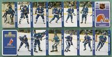 1983 Quebec Nordiques Key-Chain Team Set 12 Players