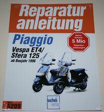 Reparaturanleitung Piaggio Vespa ET4 + Sfera 125, ab Baujahr 1996