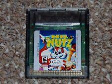 Mr. Nutz Nintendo Game Boy Color Cartridge