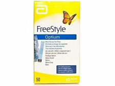 Freestyle Optium Plus Glucose Test Strips