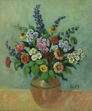 Werner Paul SCHMIDT 1888 - 1964 - Blumenstillleben Sommerblumenstrauß