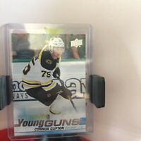 2019-20 Upper Deck #243 Connor Clifton Young Guns YG RC free shipping