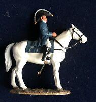 SOLDAT DE PLOMB  CAVALIER EMPIRE GENERAL EN CHEF DUC DE WELLINGTON 1812