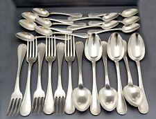French Christofle 23 piece flatware set Silverplate (CTF 116)