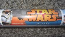 Star Wars illustrated Wallpaper Roll Pattern 70-456 - 11yds x 20.5in Disney NOS