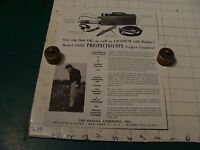 original Vintage 1955 Geiger Counter ad sheet: 105 D PROSPECTOSCOPE