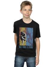 Camisetas de niño de 2 a 16 años rosas negras