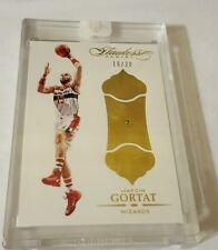 2015-16 Flawless Basketball Diamond Marcin Gortat Washington Wizards 16/20