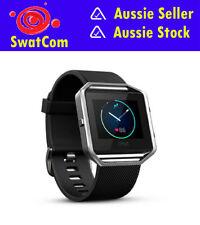 Fitbit Blaze Black Silver Large