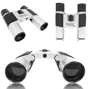10x25 Premium MagniVisionPro Binoculars Small Compact Travel Pocket Lightweight