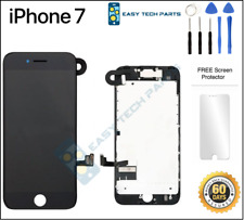 BLACK iPhone 7 Assembled OEM LCD Digitizer 3D Touch Screen Replacement A1660 4.7