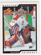 MINT! 1996-98 SCORE PINNACLE NO. 96 JOCELYN THIBAULT MONTREAL CANADIENS