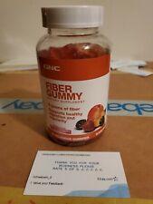 GNC Fiber Gummy - Peach Strawberry and Blackberry 80-Count Exp. 09/19