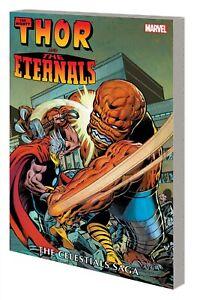 THOR & ETERNALS: THE CELESTIALS SAGA GRAPHIC NOVEL Marvel Comics TPB 424 Pages!
