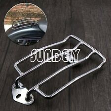 Motorcycle Solo Seat Luggage Carrier Rack For Harley Sportster 883 XL1200 Chrome
