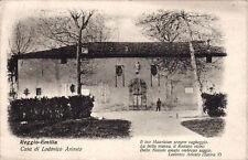 # REGGIO EMILIA: CASA DI LUDOVICO ARIOSTO 1911