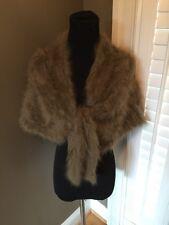 Musk oxen Vintage MUSK OX qiviut qiviuk women's Shawl Cape Scarf Wrap