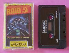 Amstrad CPC - Americana RAID Raid Over Moscow 1988 *NEW!