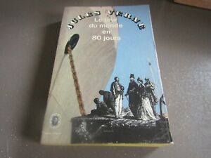 Jules Verne / LE TOUR DU MONDE EN 80 JOURS - EO 1965 / j. hetzel éditeur