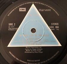 PINK FLOYD ~ DARK SIDE OF THE MOON VINYL ~ UK 1ST PRESS SOLID PRISM LP VG+/EX-