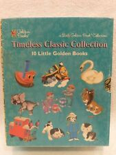 NEW VTG Timeless Classic Collection Box Set of 10 Little Golden Books 1997 Seal