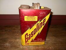 VINTAGE 1 GAL. GASOLINE CAN- TIN