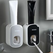 Automatic Toothpaste Dispenser Holder Wall Mount Stand Bathroom Accessories set