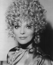 "JOAN COLLINS in Blonde Wig - 10"" x 8"" b/w Portrait Photograph circa mid 1970s"
