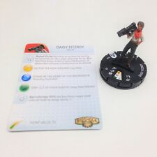 Heroclix Bioshock Infinite set Daizy Fitzroy #004 Gravity Feed figure w/card