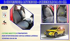 Coprisedili Nissan X-Trail> Fodere per auto copri sedili Schienali set su misura