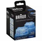 Braun Clean & Renew Refills, Lemon Fresh 2 Cartridges Cleaning Fluid