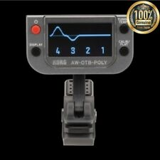 Korg Awotbpoly Polyphonic Clip on Bass Tuner From Japan