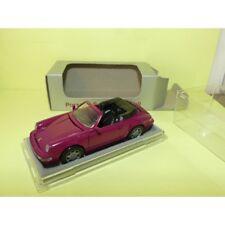 PORSCHE 911 CABRIOLET 964 Violet NZG 1:43