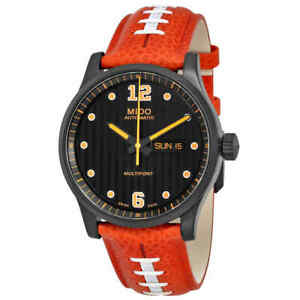 Mido Multifort Automatic Touchdown Special Edition Black Dial Men's Watch