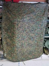 US Military Camo Poncho Liner / Woobie Blanket