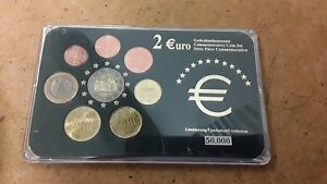 GERMANY  COMMEMORATIVE - 8 Euro COIN SET - FREE UK P&P
