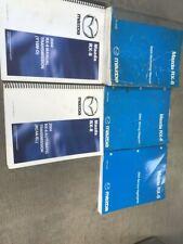 2004 Mazda RX-8 RX8 Service Workshop Repair Shop Manual Set W EWD + Trans Bks