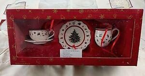 Villeroy & Boch TOY'S DELIGHT Ornamente 3tlg. Geschirrset Aufhänger V&B OVP mehr