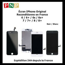ECRAN POUR IPHONE 6 / 6S / 7 / 8 / PLUS NOIR / BLANC (ORIGINAL RECONDITIONNE)