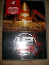 "DVD musical de U2 "" 360 ° at the rose bowl  2009 "" neuf scellé"