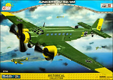 COBI Junkers Ju 52/3M (5710) - 548 elem. - WWII and post war transport aircraft