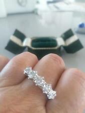 0.75 CARAT BRIGHT SPARKLING DIAMOND RING 18 CT GOLD SIZE Q?