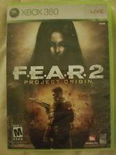 Fear 2 Project Origin Xbox 360 Complete