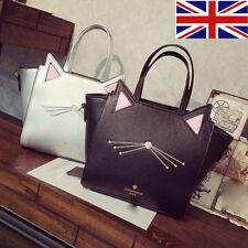 Lovely Women's Girl Cat Ear Large Capacity Handbag Shoulder Bag Messenger Bag UK