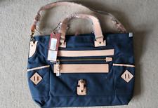 AS2OV Cordura Fabric Japanese Luggage Tote Blue Bag From Farfetch *NWT
