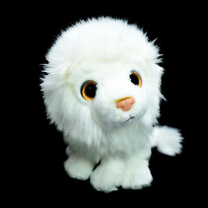 Wild Republic White Lion Washed and Clean Plush Soft Stuffed Toy 17cm