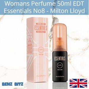 Essentials No8 Womens Perfume By Milton Lloyd 50ml EDT Eau De Toilette Spray